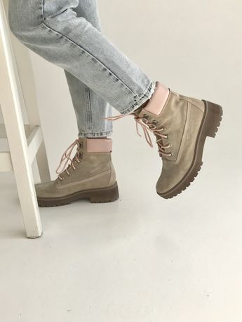 Оригінальні замшеві черевики timberland