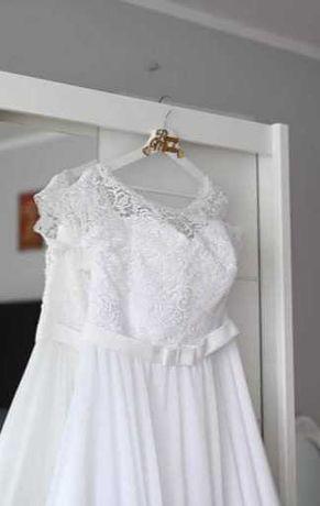 Suknia ślubna biel