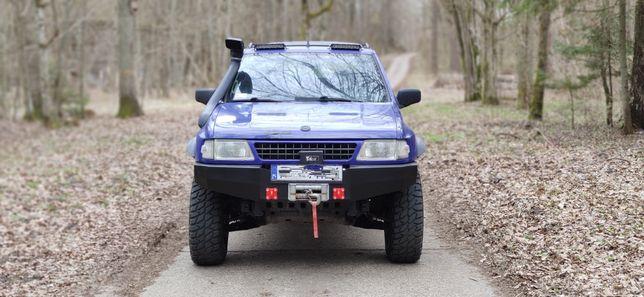 Opel Frontera 2.0Na sprężynie.Lift 4cale/Kola 32 nie zgnita ZAMIANA