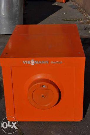 Bojler 160L VIESSMANN ze stali nierdzewnej poziomy ocieplony