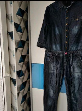 Kombinezon jeansowy rozmiar 36