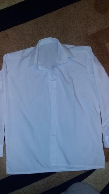 Рубашка в школу короткий рукав рост 134