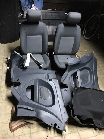 Ford Fiesta MK7 przekładka na VAN