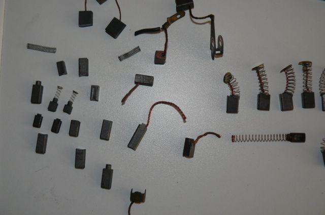 Szczotki węglowe grafitowe silniki elektronarzędzia agd rozruszniki