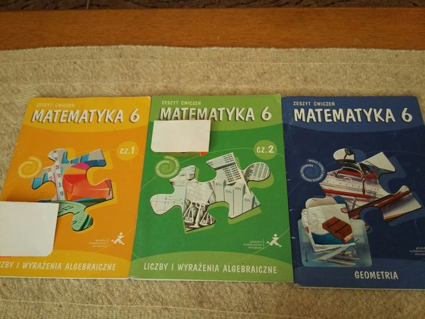 Ćwiczenia Matematyka 6, Liczby i wyrażenia algebraiczne,Geometria