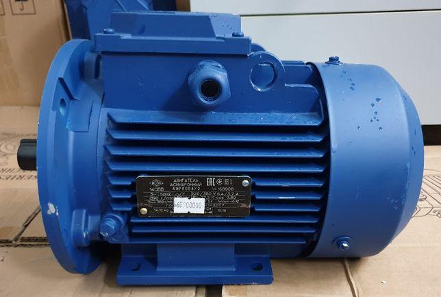 Электродвигатель 380 трехфазный однофазный електромотор АИР мотор