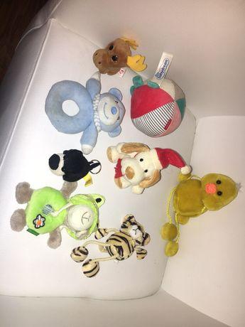 8 pluszaków w cenie 1. Pluszaki miśki grzechotki zabawka dla dziecka
