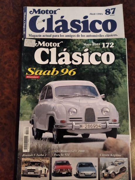 """Revistas """"Motor Clásico""""(2) e """"Auto Retro""""(2)"""