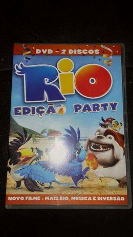 DVD 2 Discos original RIO