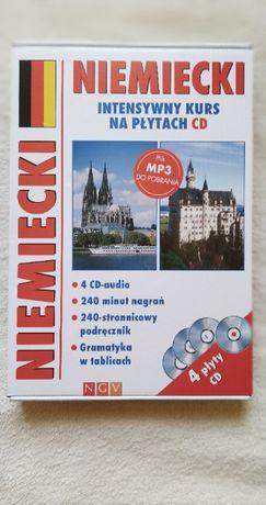 Niemiecki - intensywny kurs nauki języka na płytach CD.