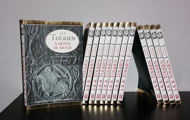 J R. R. - Tolkien-A queda de Artur - Novos a estrear
