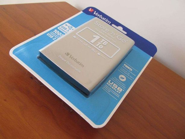 Disco Externo Verbatim Store'n'Go USB 3.0 1TB - 2,5'' (Silver)