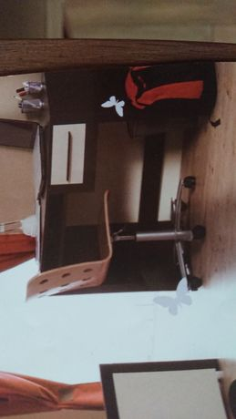 Biurko ATB Terra dla dziecka z ruchomą szufladą, półka gratis