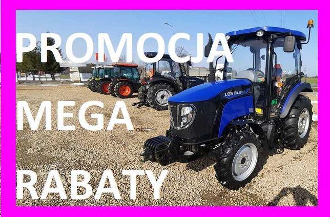 Ciągnik Rolniczy LOVOL M504 Niebieski Arbos 3055 Nowy C360 Pod Wniosek
