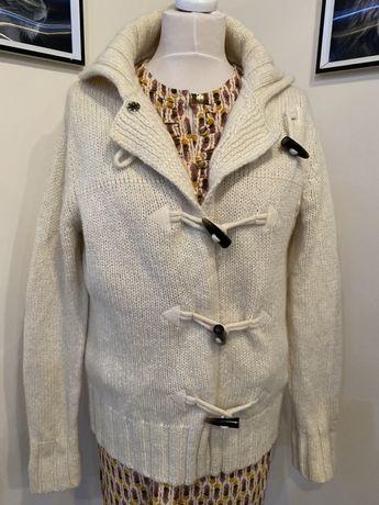 Gant kardigan sweter welna jak nowy