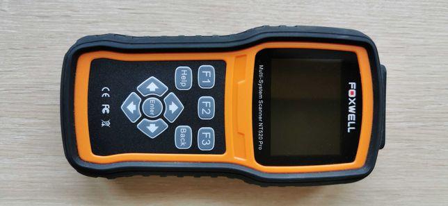 Tester, skaner diagnostyczny FOXWELL NT520 PRO (VW, Audi, Seat, Skoda)