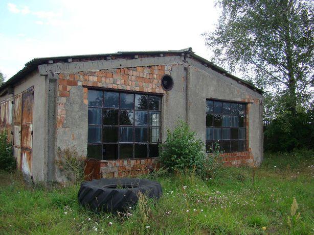 Hala i pomieszczenia garażowe