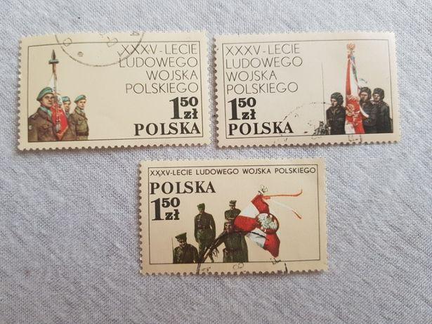 ZNACZKI XXXV - Lecie Ludowego Wojska Polskiego