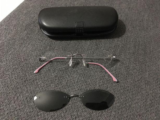 Vendo armação de óculos sem aro Adidas