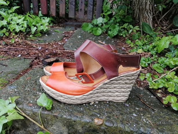 Skórzane sandały LAN KARS