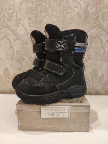 Зимние ботинки, сапоги 23 размер, 2 года