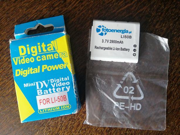 bateria do aparatu lub kamery typu Li-ion lub NI-MH