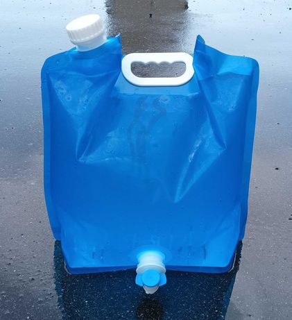 Пакет канистра 10 литров с краном. Опт. Розн.