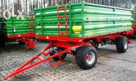 Przyczepa dwuosiowa PRONAR T672 8 t / 14,7 m³ / 2x500 mm DUŻY RABAT