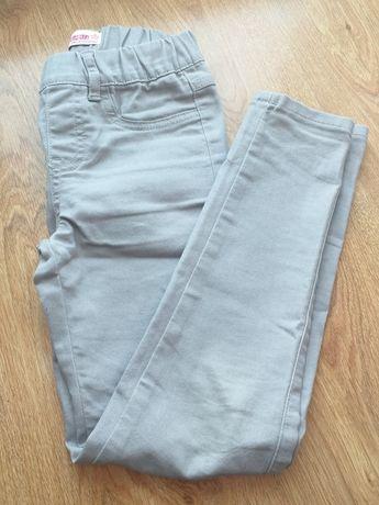 Spodnie dżinsy rurki 140