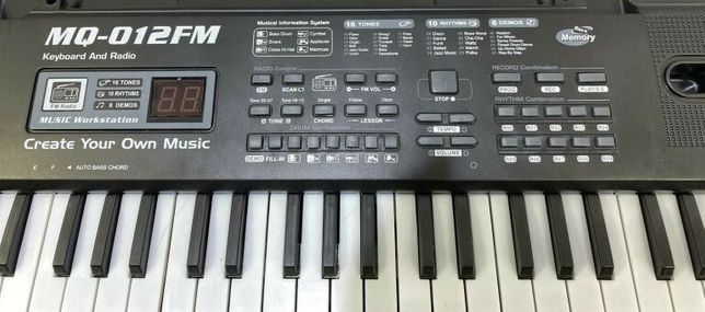 Keyboard z Radiem FM MQ-012FM Syntezator Organy