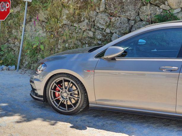 Escape, intercooler IC, jantes, discos calços VW Volkswagen golf 7 GTi