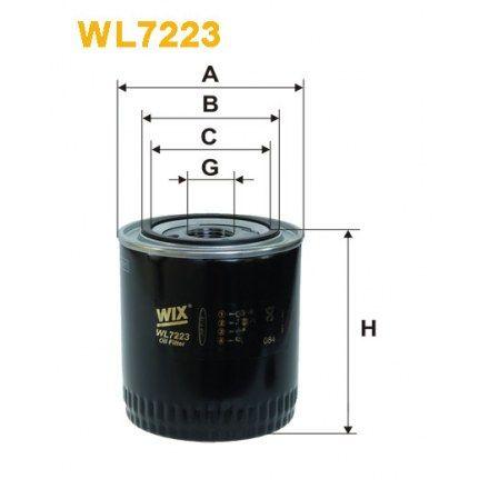 nowy filtr oleju wix wl 7223 jcb, aston martin bentley jaguar rolls