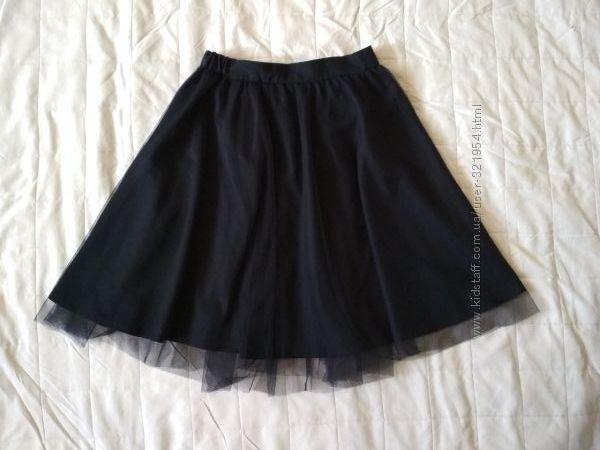 Школьная юбка с фатином 140 размер