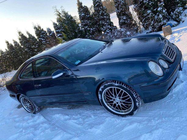 Mercedes clk w 208, 2.0 kompresor Lpg 2001r.