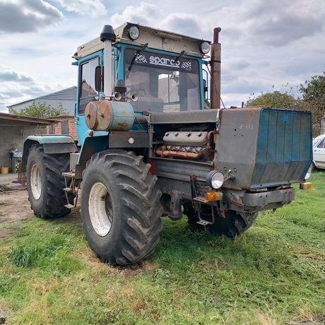 Трактор ХТЗ 170 с плугом