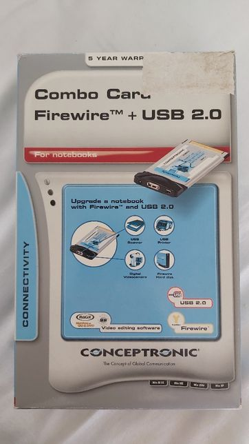 Combo Card Firewire + USB Conceptronic
