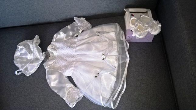 Sukienka do Chrztu r.74