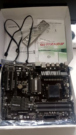 GA-970A-UD3P AMD AM3+   не рабочая