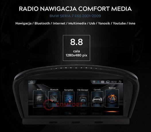 RADIO NAWIGACJA ANDROID BMW 7 E65, rok od 2001 do 2009 fv WAWA