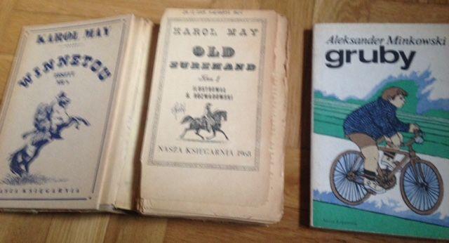 Książki Minkowskiego i Maya - przygodowe, z dobrym przesłaniem