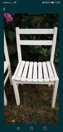 Krzesełka dla dziecka ogrodowe do ogrodu krzesła drewno drewniane
