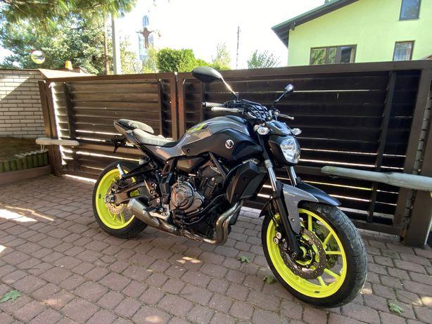 Yamaha MT07 MT 07 ! Night Fluo ! ABS ! Kat. A2 ! Ładny egzemplarz