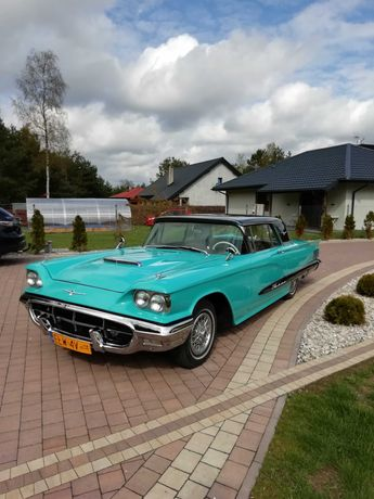 Amerykański Klasyk - samochód,auto do ślubu .Ford Thunderbird 1960 r.