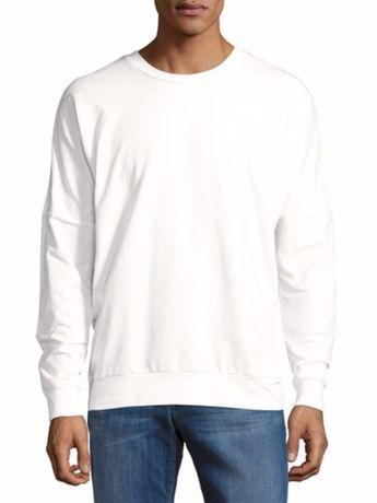 Bluza Saks Fifth Avenue rozmiar L biała jakość premium okazja