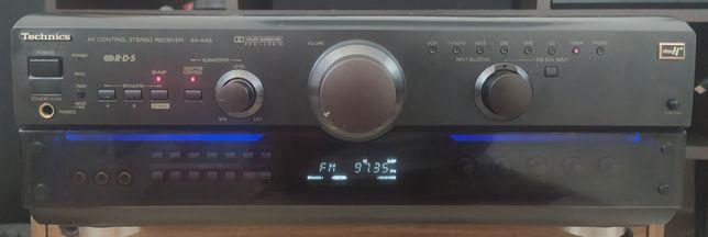 Okazja! Piękny stan Technics SA-AX6 6x100W mocny kino domowe subwoofer