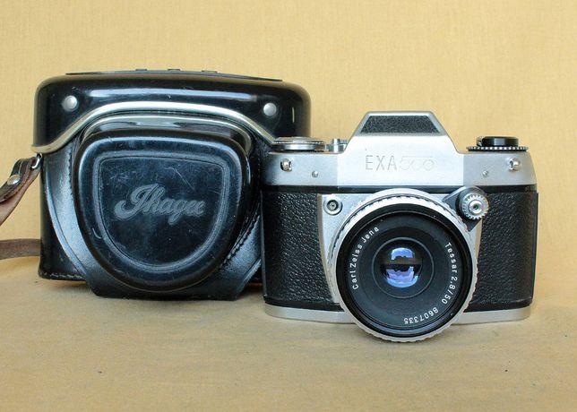 Фотоаппарат пленочный EXA 500 (Exakta), Tessar 50mm/2.8