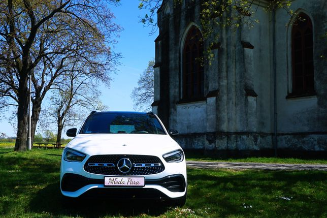 Auto Samochód do Ślubu. Mercedes GLA 200 BE AMG Edycja Limitowana 2021
