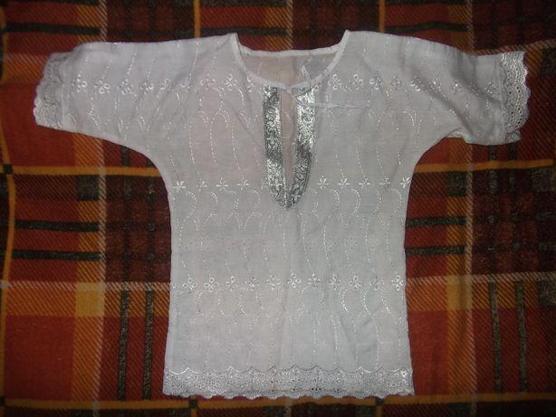 крестильная рубашка распашонка для крещения