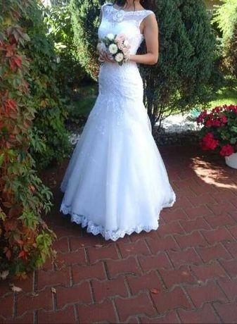 Suknia ślubna typu syrenka