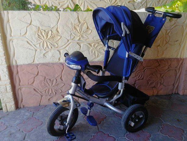 Детский велосипед девочке, мальчику на 1,5 -3 с фарой Air Lamborghini